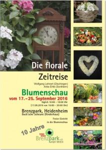Plakat 3 Blumenschau